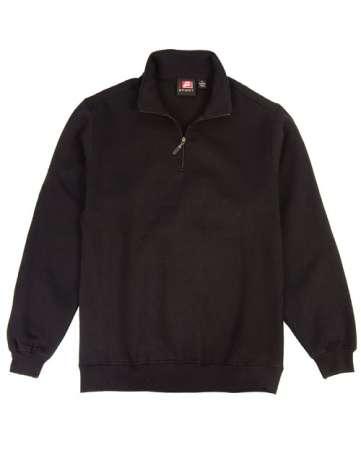 1740-CVC Quarter Zip Sweatshirt Imported