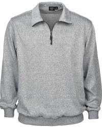 1744-SWT Men's 1/4 Zip Sweater