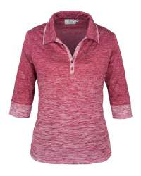 381-OBJ Ladies' 3/4 Sleeve Top