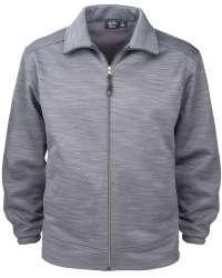 9645-TSF Men's Full Zip Jacket Tiger Stripe Fleece
