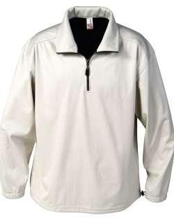 1418-BDJ Men's 1/4 Zip Windshirt