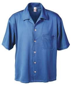 1604-AQD Men's Dry Wicking Camp Shirt