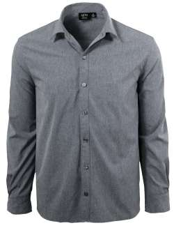 1615-CBS Men's Long Sleeve Dress Shirt