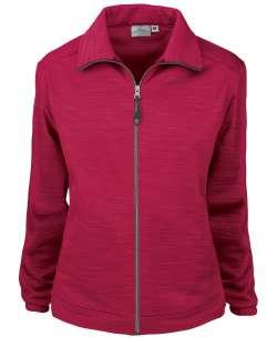 Made in USA 645-TSF Ladies' Full Zip Jacket Tiger Stripe Fleece