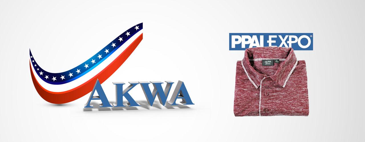 PPAI EXPO 2018 Trade Show AKWA USA Apparel American Made Garments