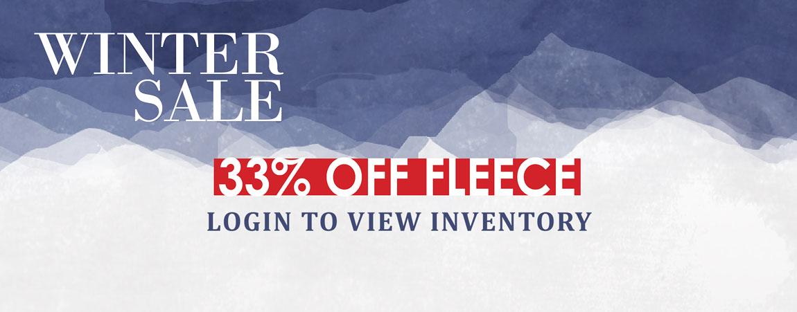 American Made Fleece Winter Sale 2017